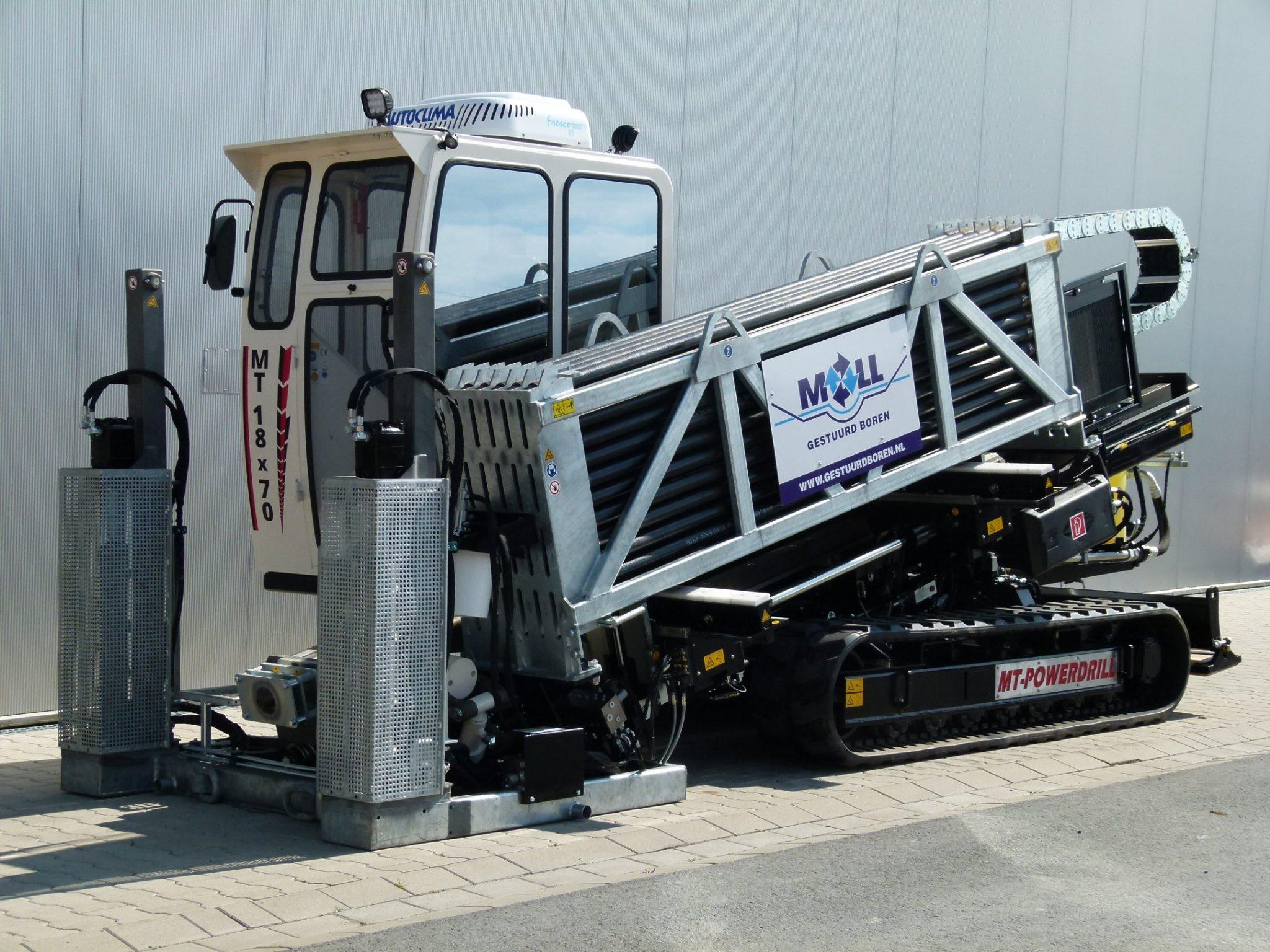 De eerste AT Boretec MT18x70 in Nederland