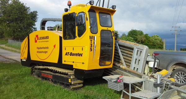 Nieuwe MT35 Rockdrill in gebruik genomen